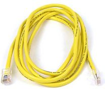 BELKIN CAT 5 PATCH CABLE 15M SNAGLESS YELLOW NS (A3L980B15M-YLWS)