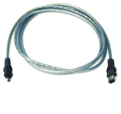 IEEE 1394 S400 CABLE 4PIN/ 6PIN;28AWG; 6 NS