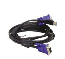 Cable Kit for DKVM-4U Switch 1.8m Cable combining Video (DB-15) and USB