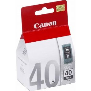 CANON PG-40 BLK INK BLISTER W/SEC BLACK INK CARTRIDGE (0615B042)