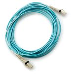 Hewlett Packard Enterprise LC til LC Multi-mode OM3 2-Fiber 5,0m 1-Pack fiberoptisk kabel (AJ836A)