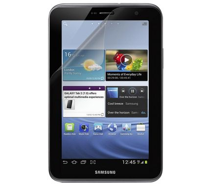 Galaxy Tab2 Screen Overlay 1pk