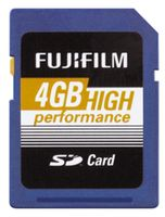 4GB SDHC card High Performance / Class 10