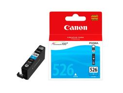 Canon CLI 526C - Blekkbeholder - 1 x cyan - blister with security (4541B010)
