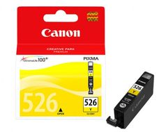 Canon CLI 526Y - Blekkbeholder - 1 x gul - blister with security (4543B006)