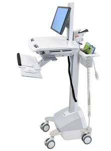 ERGOTRON StyleView EMR-Cart with LCD-Gel (SV42-6302-2)