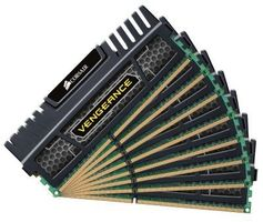 Vengeance Dual C DDR3 64GB Kit, 1600MHz, 8x2GB