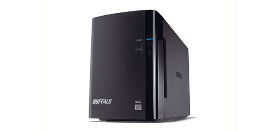 DRIVESTATION DUO 8TB USB 3.0 2X 4TB HDD RAID 0/1              IN EXT