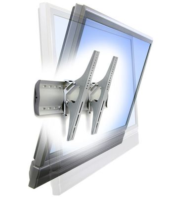 TILTING WALLMOUNT MED DISPLAY TM CLEAR ANODIZED