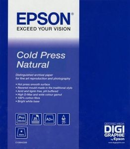 "EPSON 44"" Cold Press Natural 12,5 m (C13S042305)"