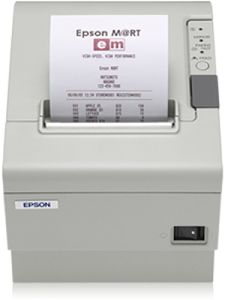 EPSON TM-T88IV (431)  SERIAL  W/O PS ECW LOW POWER LOW PEAK 9600 BPS IN (C31C636431)