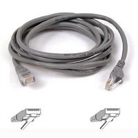 CAT 5 PATCH CABLE ASSEMBLED BLACK 2M NS