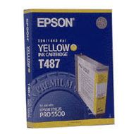 EPSON INK PRO 5500 INK YELLOW (C13T487011)