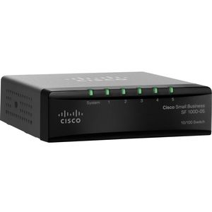 CISCO SF 100D-05 5-Port Switch