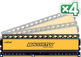 DDR3 Ballistix Tactical 32GB 32GB kit (8GBx4), 1600MHz, 1.5V, CL8-8-8-24