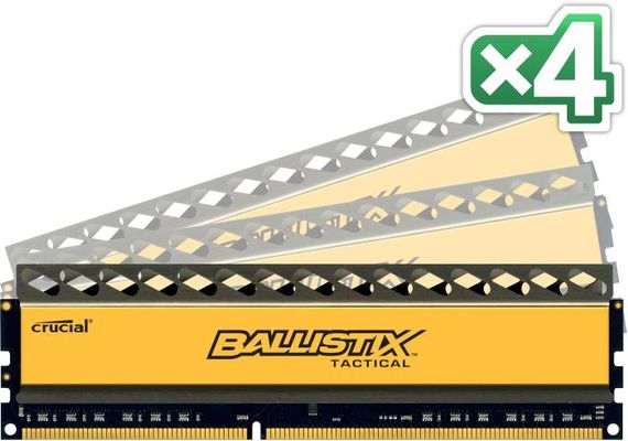 32G 8Gx4 DDR3 PC3-12800 CL8 Tactic UDIMM