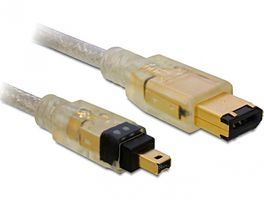 - IEEE 1394 cable - 6 pin FireWire (M) - 4