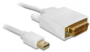 Displayport-Kabel mini DPort -> DVI(24+1) S