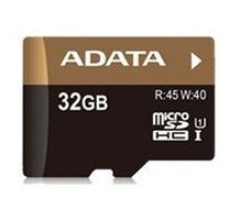 32GB Ultra High Speed MicroSDHC UHS-I +SD adapter