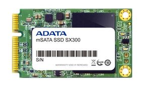 "SSD 64GB mSATA3 2.5"", MLC, SX300, XPG-series,  SF-2281, 550/485 MB/s"