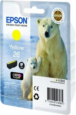 Ink Cart/ 26Ser Polar Bear Yellow RS