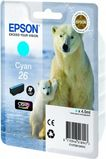 EPSON Ink Cart/ 26Ser Polar Bear Cyan RS