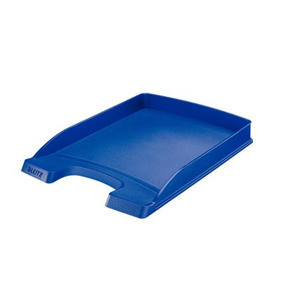 LEITZ letter tray plus slim 5237 blue