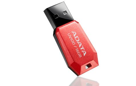 A-DATA 16GB USB Stick UV100 Red Mobility (AUV100-16G-RRD)