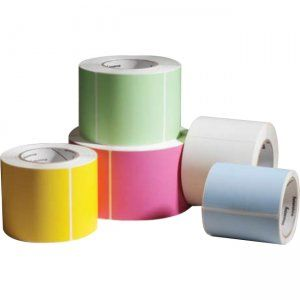 Label, Thermal Topcoated Paper, 76x127mm, 100/roll, 48/box, Perf, 19mm core, Out Ø 57mm, PB