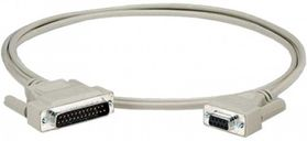 RS232 CABLE DB25/9 CABL