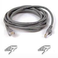 Belkin CAT 5 PATCH CABLE 2M MOULDED SNAGLESS GREY NS (A3L791B02M-S)