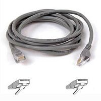 CAT 5 PATCH CABLE 2M MOULDED SNAGLESS GREY NS