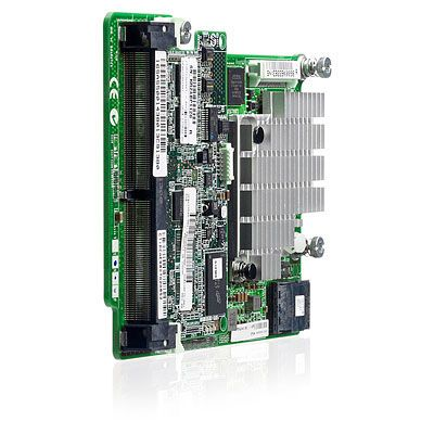 Smart Array P721m/512 FBWC 6Gb 4-ports Ext Mezzanine SAS Controller