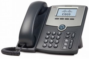 CISCO IP Phone/ 1Line w/Display PoE+Gbit PC Prt (SPA512G)