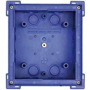 MOBOTIX Single In-Wall Mount, Blue (MX-OPT-BOX-1-EXT-IN)