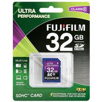32GB SDHC card High Performance / Class 10