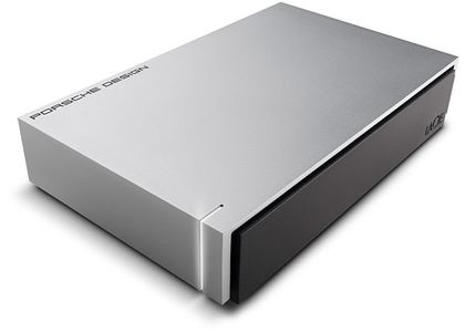 LACIE 4TB PORSCHE 3.5 USB LIGHT-GREY 4TB/ USB3.0 IN (LAC9000385)