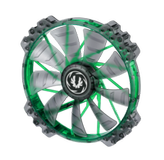 BITFENIX Spectre PRO 200mm Lüfter Green LED - black