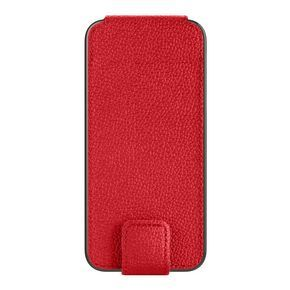 Cover folio leather red