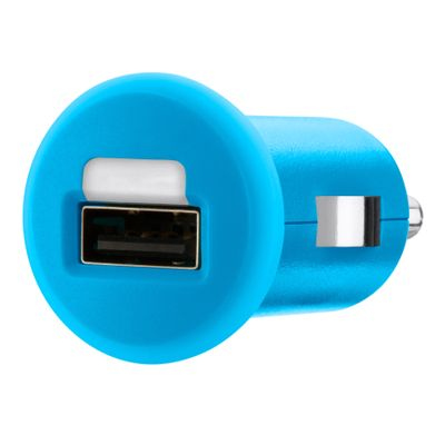 Micro car charger USB 1A BLU