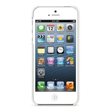 Case polycarbonate iPhone 5 white