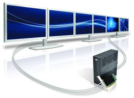 Epica TC48 1024MB DDR3PCI-Express 16x, 4x Mini DisplayPort,  Low-profile,  for the Z90DE7 with Wyse