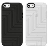 Belkin 2 pack silicone case Black/ White,  iPhone SE/5s/5 (F8W130VFC00-2)
