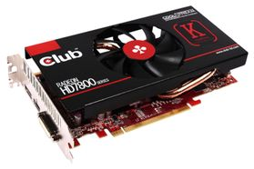 Club3D HD7850 royalKing 1024MB DVI/ HDMI/ DP DDR5 re