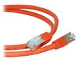 LinkIT PIMF Patchkabel,  Cat.6a, orange,  0,5 m. Dobbelskjermet/ PIMF,  LSOH