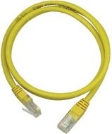 UTP Cat.5e patchkabel 10m, gul