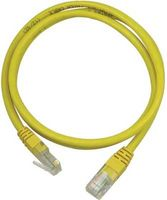 UTP Cat.5e patchkabel 0.5m, gul