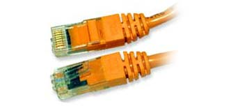 DELTACO UTP Cat.5e patchkabel 10m, orange (OR10-TP)