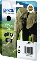 EPSON Ink Cart/24s Elephant Black RF+AM (C13T24214020)