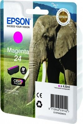 Ink Cart/24s Elephant Magenta RS